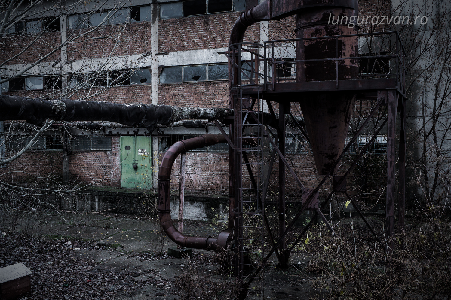 Abandoned Industrial Plant