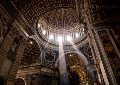 Sacred Light in St. Peter's Basilica