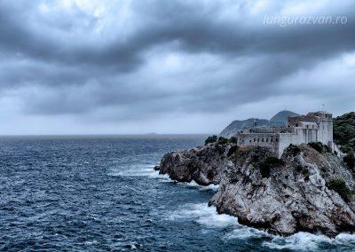 Storm Over Fort Lovrijenac